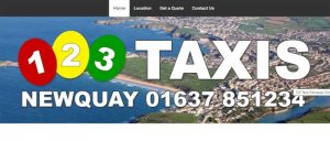 123 taxis newquay image