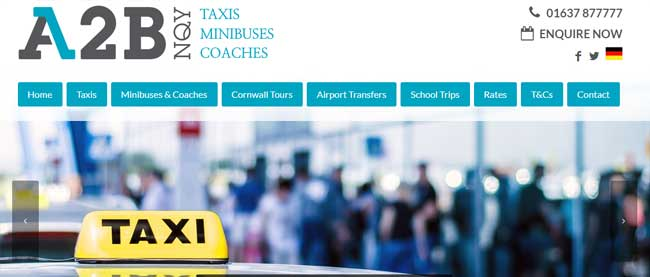 A2B Taxis Newquay