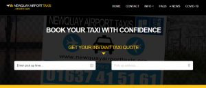 newquay airport taxis image