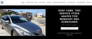 surf cabs newquay image