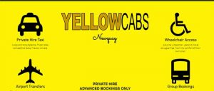 yellow cabs newquay image